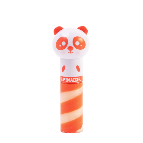 Lip Smacker | Lippy Pal Swirl Lip Gloss - Panda - Paws-itively Peachy - product front facing with cap fastened, with no background
