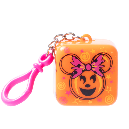 Lip Smacker | Halloween Cube Lip Balm - Minnie - Sour Tricky Treat - Product front facing with cap fastened, with no background
