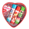 Lip Smacker   Marvel 3 Piece Lip Balm Tin   Product Front facing caps fastened in open tin, no background