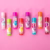 Lip Smacker | You're the Balm 8 Piece Lip Balm | Products front facing scattered caps fastened, with pink background