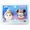 Disney Emoji Lip Balm Duo - Belle & Minnie   Wet n wild   Product front facing in packaging, with no background
