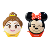 Disney Emoji Lip Balm Duo - Belle & Minnie   Wet n wild   Product front facing cap fastened, with no background