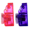 BFF Sugar Bear Lip Balm Duo- Pink & Purple | Lip Smacker | Product side view cap fastened, with no background