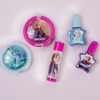 Frozen II Pouch Color Set | Lip Smacker | Product scattered, with lavender background