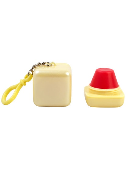 Lip Smacker | Cloud 9 Candy Cube -  Lemon Drop  - product front facing with open cap, with white background