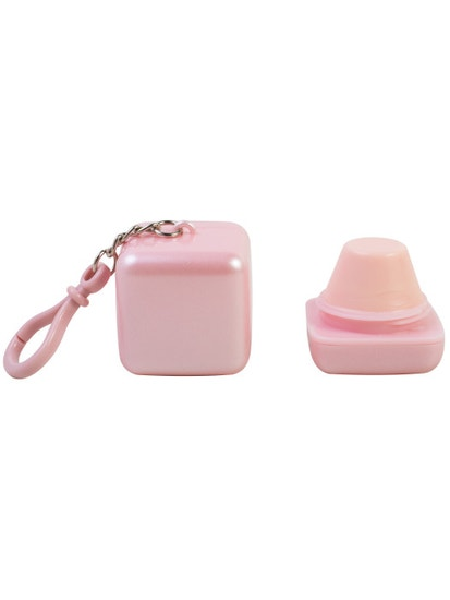 Lip Smacker   Cloud 9 Candy Cube - Fluffy Cotton Candy - product front facing with open cap, with white background