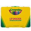 Lip Smacker | Crayola 24 - Piece Lip Balm Vault - Product front facing case closed, with no background