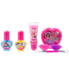 Lip Smacker | Disney Color Vault - Princess - Products front facing caps fastened, with no background