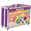 Lip Smacker | Sparkle & Shine Unicorn Train Case | Product angled case closed, with no background