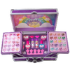 Lip Smacker | Sparkle & Shine Unicorn Train Case | Product top  case open, with no background