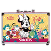 Lip Smacker | Disney Minnie Mouse Train Case | Product side case closed, with no background.