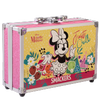 Lip Smacker | Disney Minnie Mouse Train Case | Product angled case closed, with no background.