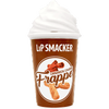 Lip Smacker | Lip Cafe Cinnamon Churro Frappe Lip Balm - product front facing with cap fastened, with no background