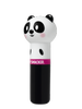 Lip Smacker | Lippy Pal Lip Balm - Panda - Cuddly Cream Puff - product angle view with cap fastened, with no background