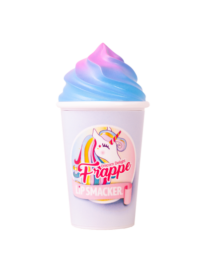 Lip Smacker | Frappe Cup Lip Balm - Unicorn Delight - product front facing with cap fastened, with no background