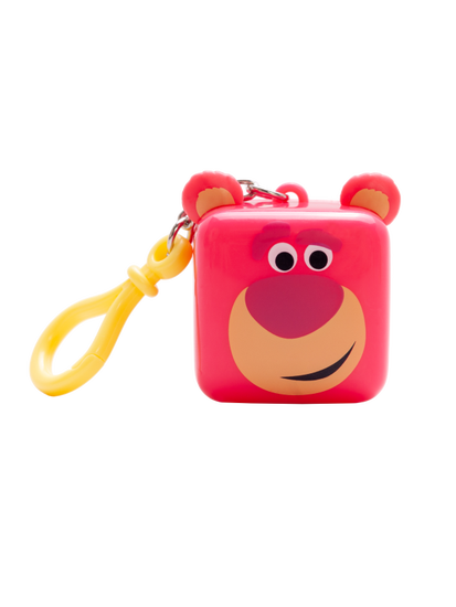 Lip Smacker | Pixar Cube Balm - Lotso - product front facing with cap fastened, with no background