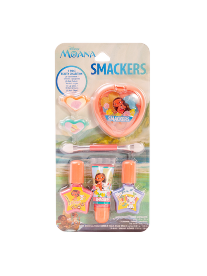 Lip Smacker | Smackers Color Collection - Moana - products front facing carded, with no background