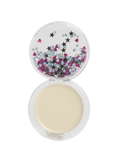 Lip Smacker | Smackers Sparkle and Shine - Gold Sparkle - product front facing open, with no background