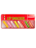 Lip Smacker | Tin Lip Balm Vault - products front facing in open tin, lid on top, with no background
