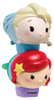 Lip Smacker | Tsum Tsum Duo - Ariel & Elsa - products stacked angle view with cap fastened, with no background