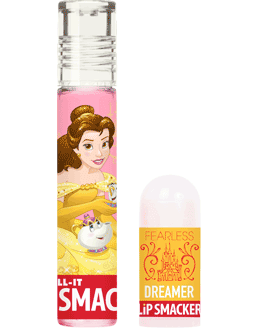 Lip Smacker   Tea Party Treats Roll-It + Mini Lip Balm - product front facing with cap fastened, with no background