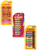 Lip Smacker | Sugar Rush Party Pack Collection - Products front facing, partially open lid, no background