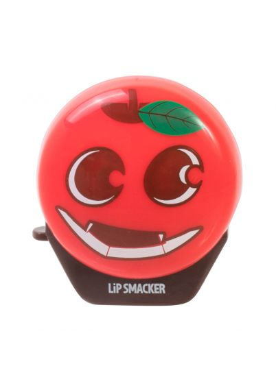 Lip Smacker | Apple-Lantern Flip Balm - Evil Apple - product front facing with cap fastened, with white background