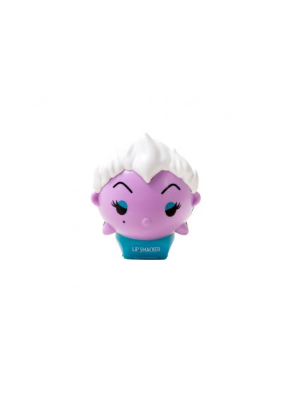 Lip Smacker | Disney Tsum Tsum Lip Balm - Ursula - Wicked Grape - Product front facing cap fastenend, with no bacground