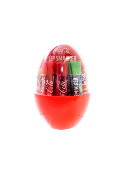 Coke Egg Lip Balm Trio