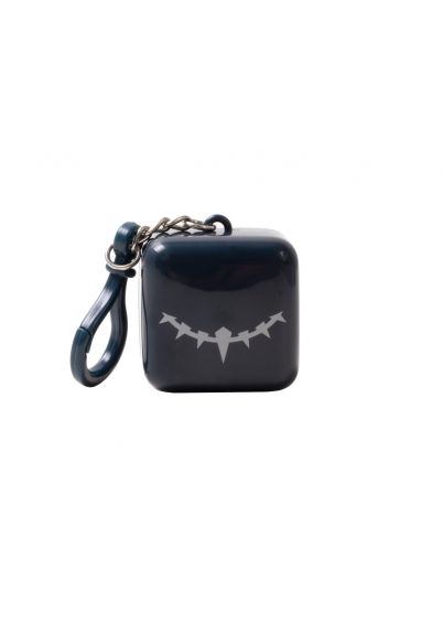 Marvel Cube - Black Panther - T'challa Tangerine  Lip Balm Keychain