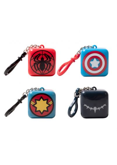 Marvel Avengers Lip Balm Cube 4 pack Bundle
