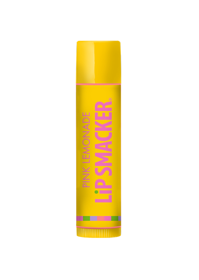 Lip Smacker | Pink Lemonade - product front facing with cap fastened, with no background