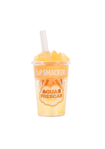 Lip Smacker | Horchata Aguas Frescas Lip Balm - product front facing with cap fastened, with no background