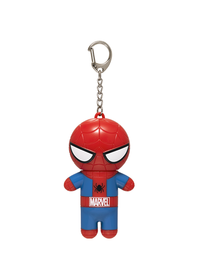 Lip Smacker | Marvel Super Hero Spider-Man Lip Balm - product front facing with cap fastened, with no background