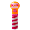 Lip Smacker | Lippy Pal Swirl Lip Gloss - Sloth - Cozy Salted Caramel | Product front facing cap fastenend, with no background