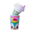 Lip Smacker | Holiday Beverage Cup - Penguin - Peppermint Penguin | Product front facing cap removed, with no background