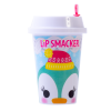 Lip Smacker | Holiday Beverage Cup - Penguin - Peppermint Penguin | Product front facing cap fastenend, with no background