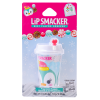 Lip Smacker | Holiday Beverage Cup - Penguin - Peppermint Penguin | Product angled carded with cap fastenend, with no background