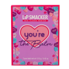 Lip Smacker | You're the Balm 3 Piece Storybook Lip Balm - Purple | Product front facing box closed, with no background