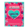 Lip Smacker | You're the Balm 3 Piece Storybook Lip Balm - Pink | Products front facing box closed, with no background