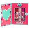 Lip Smacker | You're the Balm 3 Piece Storybook Lip Balm - Pink | Products front facing cap fastened box opened, with no background