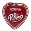 Lip Smacker | Dr Pepper 3 Piece Lip Balm Tin | Product tin front facing lid fastened, with no background