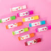 Lip Smacker | My Punny Valentine 10 Piece Lip Balm | Product front facing angled, with pink background