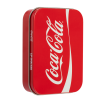 Lip Smacker | Coca-Cola 3 Piece Lip Balm Tin - Product tin angled cap fastenend, with no background