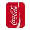 Lip Smacker | Coca-Cola 3 Piece Lip Balm Tin - Product tin front facing cap fastenend, with no background