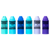 Lip Smacker | Crayola Stackable Mini Vault - Blues - Products front facing cap fastened, with no background