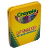 Lip Smacker | Crayola Stackable Mini Vault - Blues - Product tin angled cap fastened, with no background