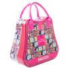 Lip Smacker | Disney Princess Weekender Bag | Product angled bag closed, with no background