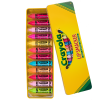 Lip Smacker | 12 Piece Crayola Lip Balm Vault | Product front facing lid open, with no background