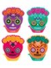 Lip Smacker | Day of the Dead Flip Balm Collection - Products front facing, crarded, no background